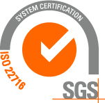 ISO 22716 Certified
